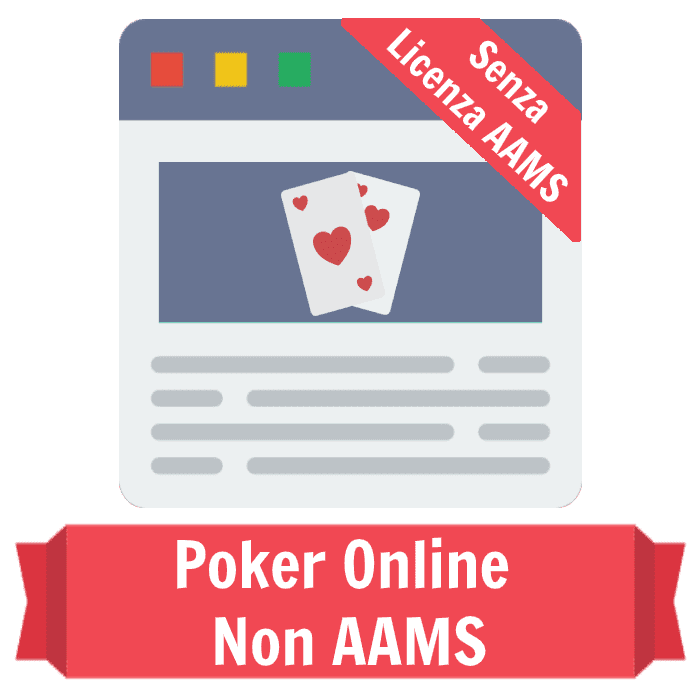 poker online non AAMS