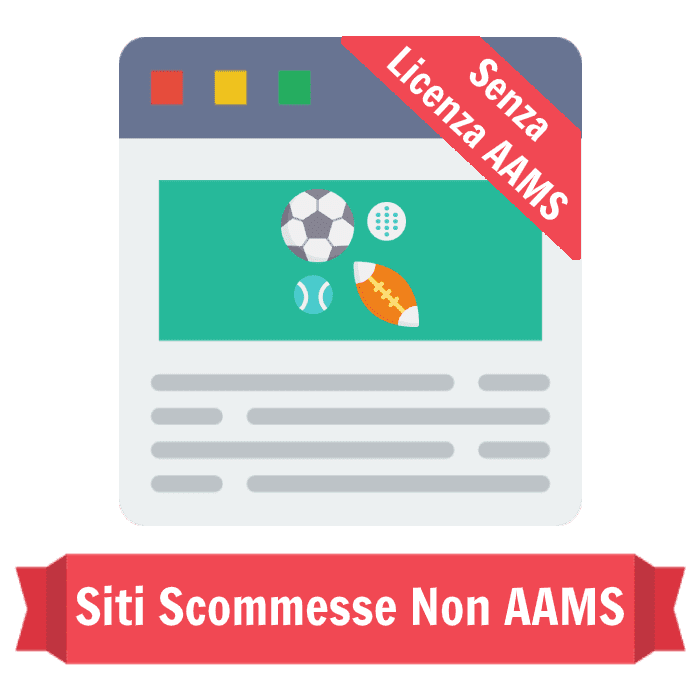 siti scommesse non AAMS