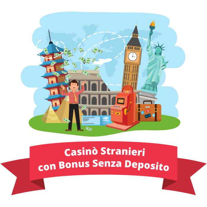 casinò stranieri con bonus senza deposito
