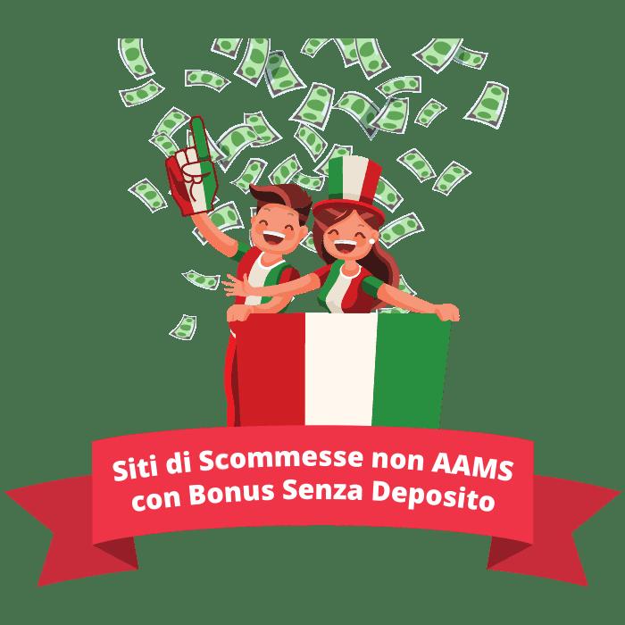 siti di scommesse non AAMS con bonus senza deposito