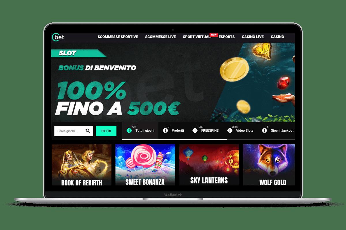 CBet Casino: Bonus e Giochi