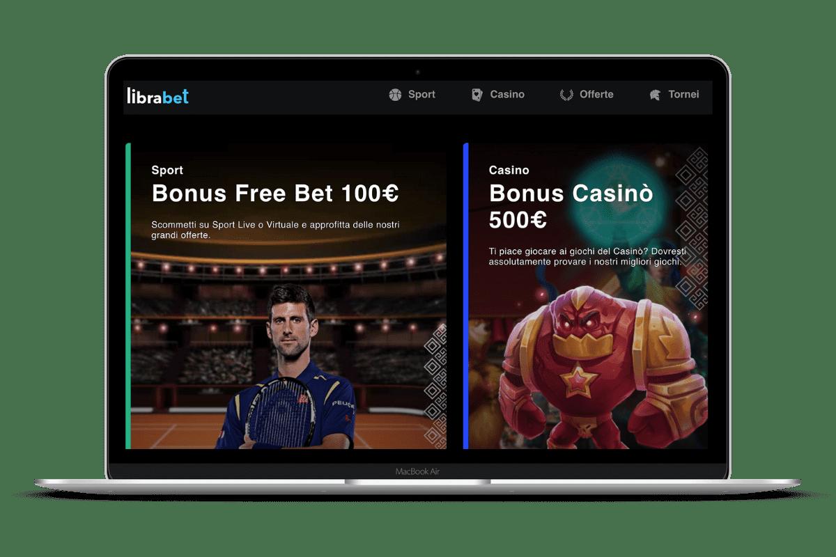LibraBet Casino: Giochi e Bonus