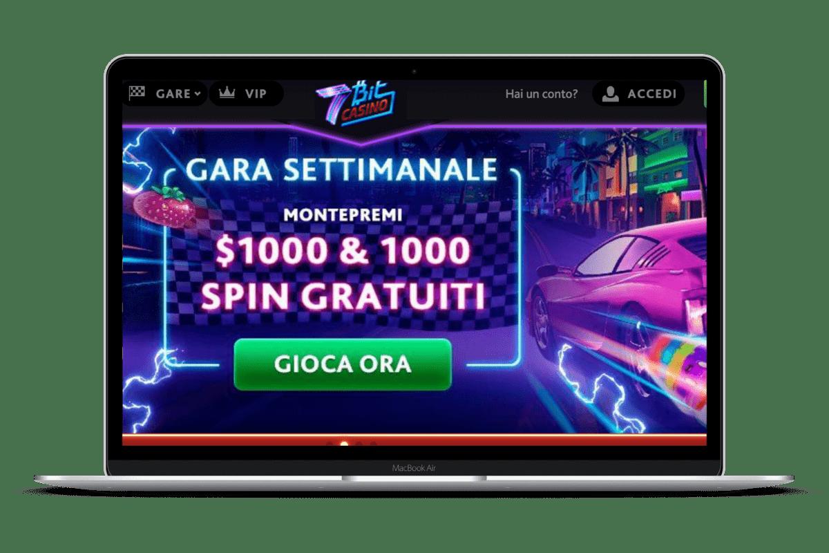 7Bit Casino: Giochi e Bonus