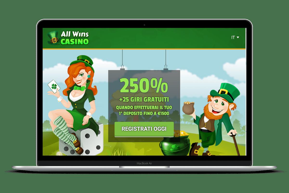 All Wins Casino: Giochi e Bonus