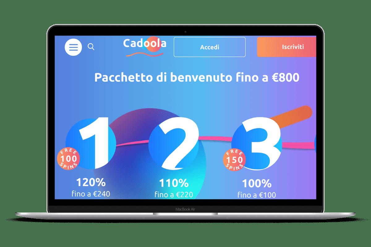 Cadoola Casino: Giochi e Bonus