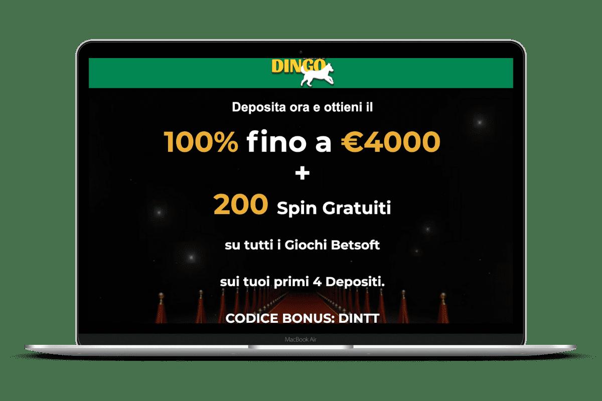 Dingo Casino: Giochi e Bonus
