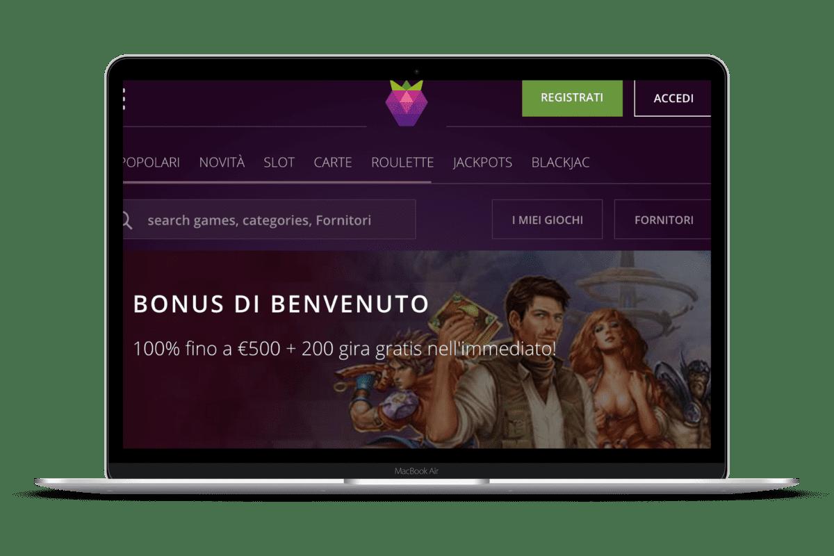 Malina Casino: Giochi e Bonus