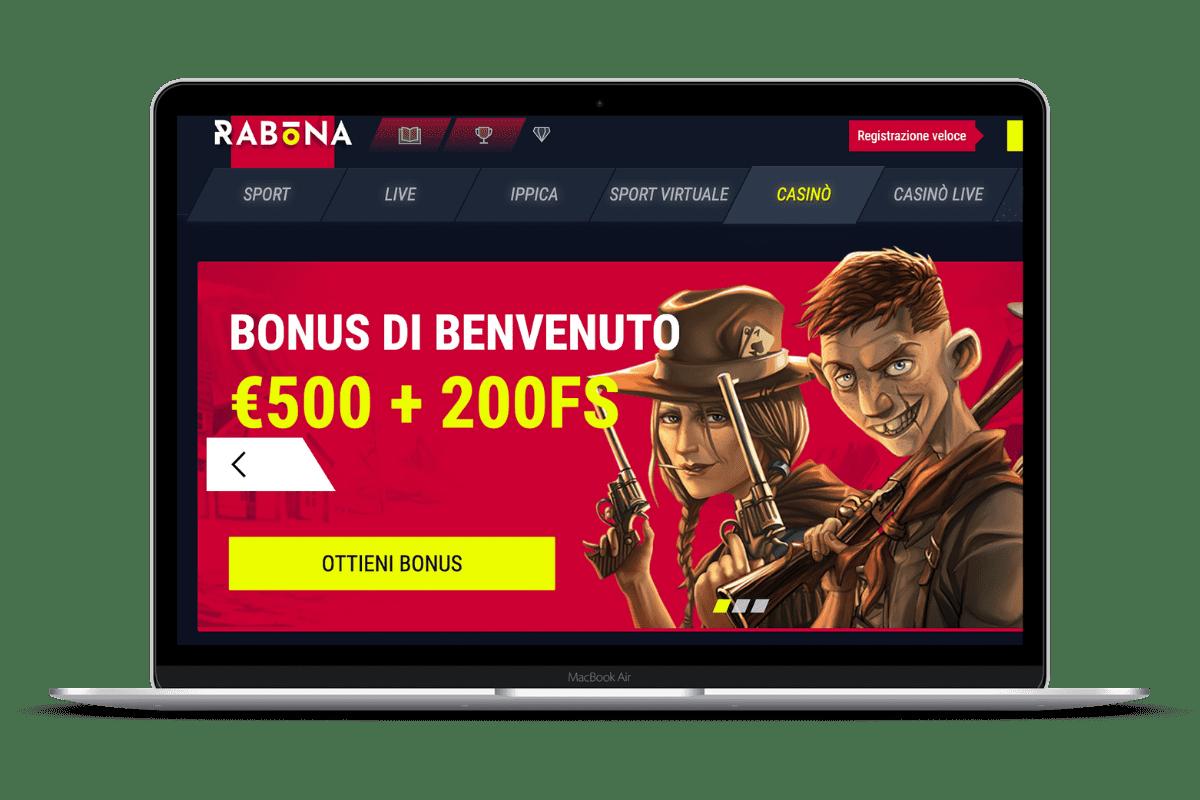 Rabona Casino: Giochi e Bonus