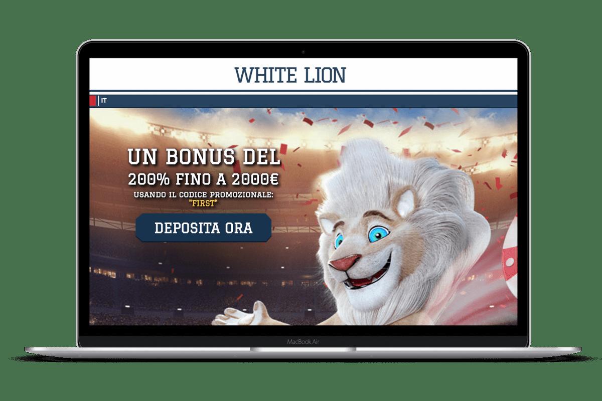White Lion Casino: Giochi e Bonus