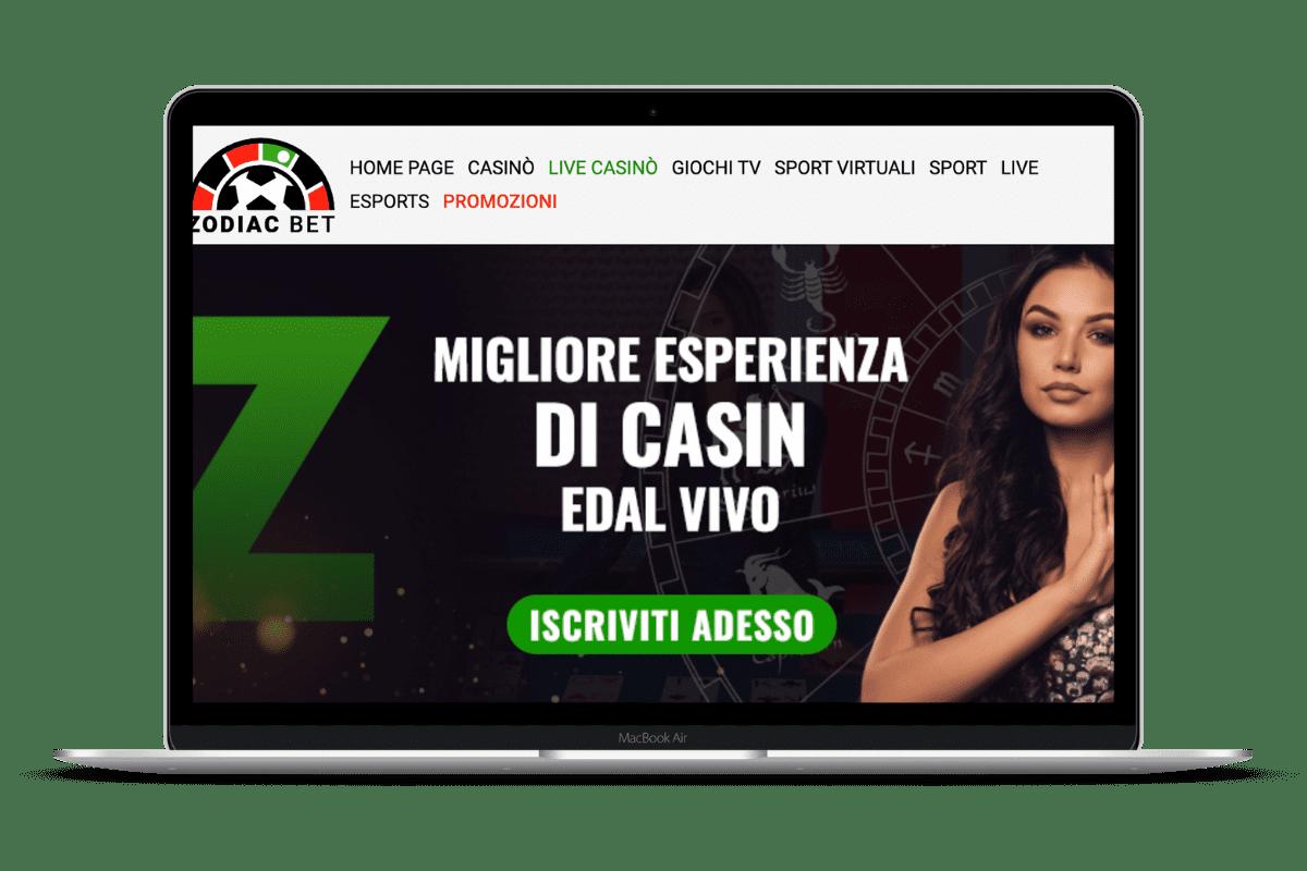 ZodiacBet Casino: Giochi e Bonus