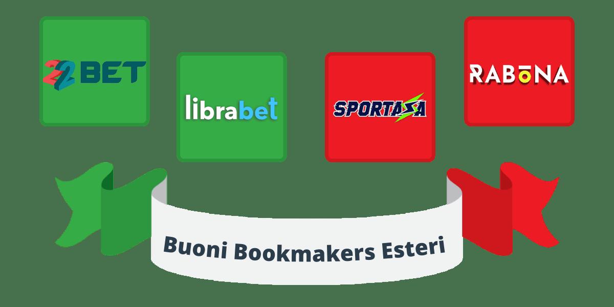 buoni bookmakers esteri